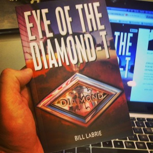Eye of the Diamond-T Print